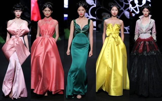 Ngắm bộ sưu tập haute couture tuyệt đẹp của Alexis Mabille trên sàn diễn Việt Nam