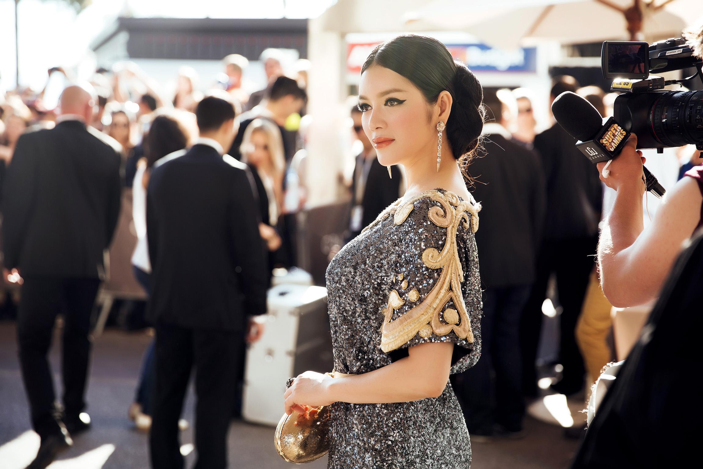 Lý Nhã Kỳ đẹp nghiêng nước nghiêng thành tại LHP Cannes 2016
