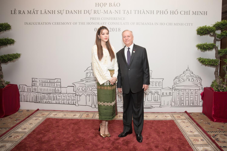 Lý Nhã Kỳ làm Lãnh sự danh dự của Romania tại TP HCM